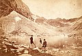 Felkai-völgy (Velická dolina), Hosszú tó (Dlhé pleso). A felvétel 1873 körül készült. Fortepan 78032.jpg