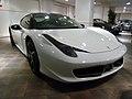 Ferarri Ferrari F458 white black (6591292763).jpg