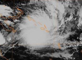 Cyclone Fergus - Image: Fergus 96