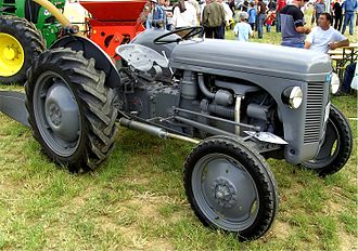 Harry Ferguson - A Ferguson Tractor
