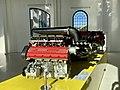Ferrari engines at the old workshop of Museo Enzo Ferrari, Modena, Italy, 2019, 04.jpg