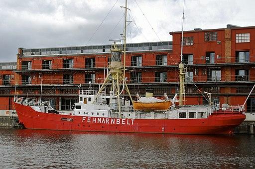 Feuerschiff Fehmarn Belt in Lübeck 2010 (7181320946)