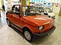 "Fiat 126p Cabrio during ""XXX lat motoryzacji PRL"" exhibition at Bonarka City Center in Kraków 2.JPG"