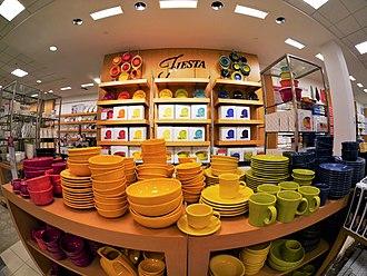 Fiesta (dinnerware) - New Fiestaware at Macy's in East Wenatchee, Washington