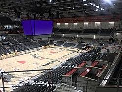 Renovated Fifth Third Arena Interior