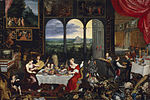 File-Bruegel d. Ä., Jan -The Senses of Hearing, Touch and Taste - 1618.jpg