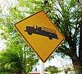 Fire engine sign, Lake Placid, Florida.jpg