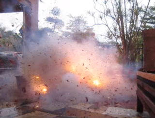 Firecracker Fireworks meant to produce noise