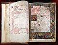 Firenze, breviarium monasticun sec. regulam s. benedictis abbatis, copiato da costanza e miniato da angela di antonio de' rabatti, 1518 (conv. s. 90) 01.jpg