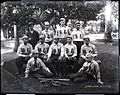 First Nine Baseball Team, Saint Louis College, 1895, photograph by Brother Bertram.jpg