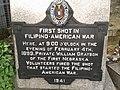 First Shot in Filipino-American War Marker.jpg