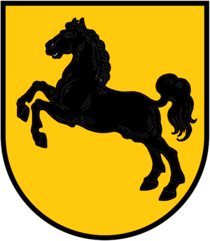Coat of arms of Saxony - Image: First coat of arms of Old Saxony from Widukind