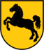 First coat of arms of Old Saxony from Widukind.png