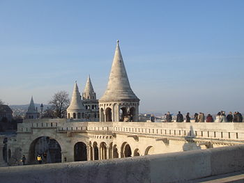 English: Fisherman's Bastion in Budapest