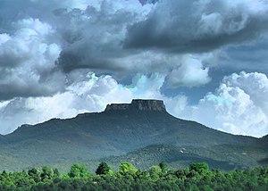 Raton Mesa - Fishers Peak is the highest point on Raton Mesa.