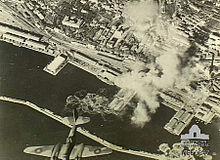 Bombardamenti aerei su Fiume nel 1944 da parte di aerei della RAF