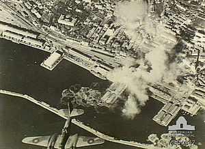 Fiume (Rijeka) bombing by RAF in 1944