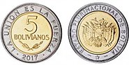 Plurinational State of Bolivia, five coin 2017