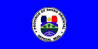 Davao (province) - Image: Flag of Davao Oriental