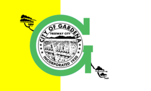 Gardena, California - Image: Flag of Gardena, California