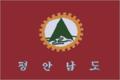 Flag of P'yŏngan-namdo (ROK).png