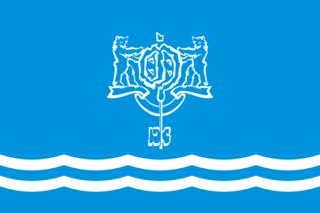 Флаг Южно-Сахалинска