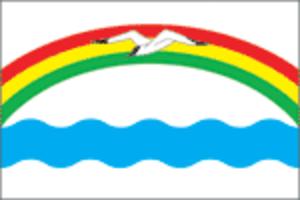 Zavolzhsk - Image: Flag of Zavolzhsk (Ivanovo oblast)