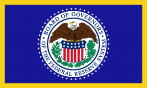 Flag of the United States Federal Reserve Bank