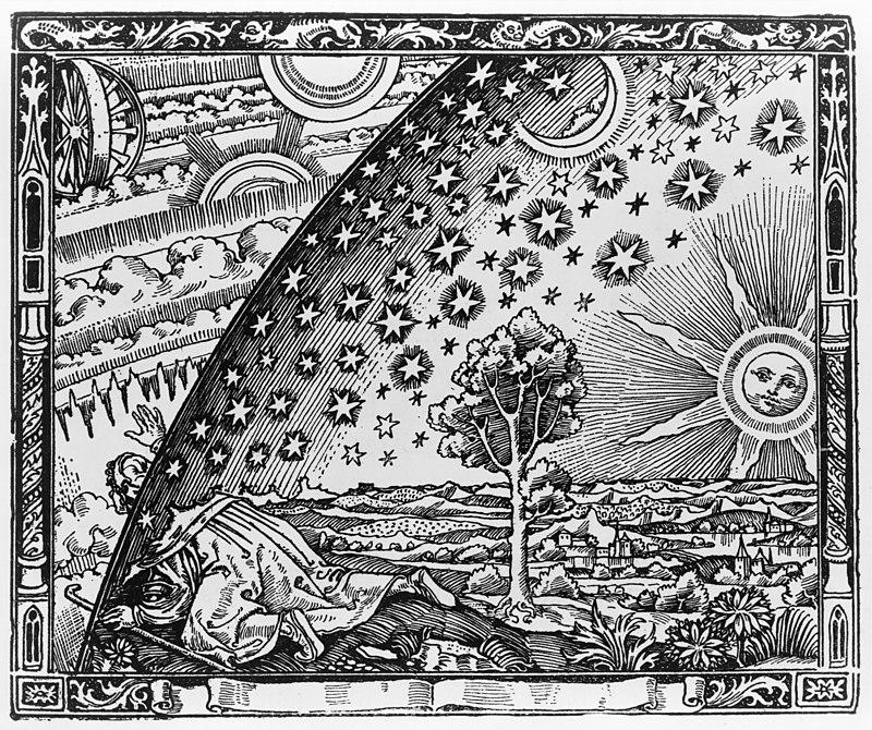 Grabado de Flammarion