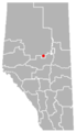 Flatbush, Alberta Location.png