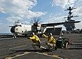 Flickr - Official U.S. Navy Imagery - USS John C. Stennis (CVN 74) launches a bird..jpg