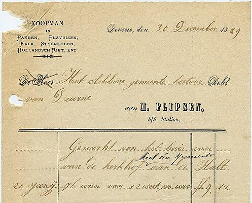 Flipsen, m - pannen- plavuizen- kalk- steenkolenhandel 1889.jpg