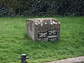 Flood marker - geograph.org.uk - 752141.jpg