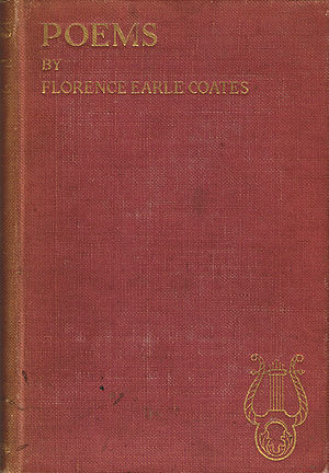 1898 in poetry - Image: Florence Earle Coates Poems 1898