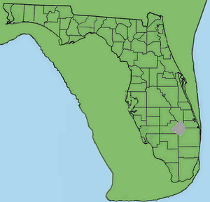 Orange County, Florida paleontological sites - Florida during the Late Pleistocene 2 million to 10,000 years ago.