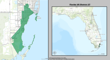 Florida's 27th congressional district - since January 3, 2013.