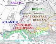Floristic regions in Europe (english)