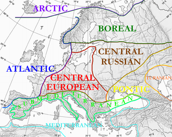 Map Of Atlantic Europe The Full Wiki