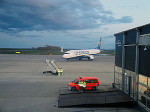 Magdeburg–Cochstedt Airport - Apron overview