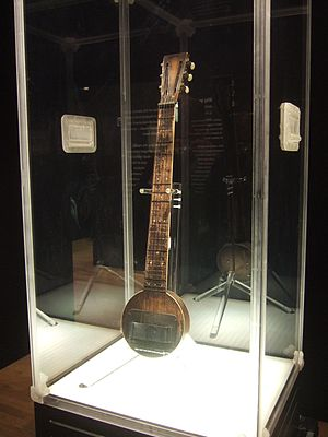 Frying pan (guitar) - Image: Flying Pan prototype (1931) using one piece maple