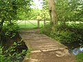 Footbridge on the Tunbridge Wells Circular Walk - geograph.org.uk - 1902792.jpg