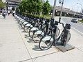 Formerly Bixi, now Bike Share Toronto, foot of Yonge, 2014 06 18 (2).JPG - panoramio.jpg