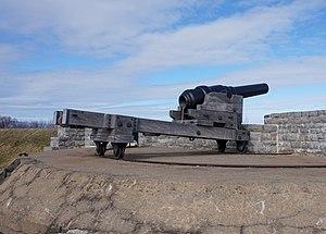 RBL 7 inch Armstrong gun - RBL 7 inch Armstrong gun in Fort No 1, Lévis, Quebec, Canada
