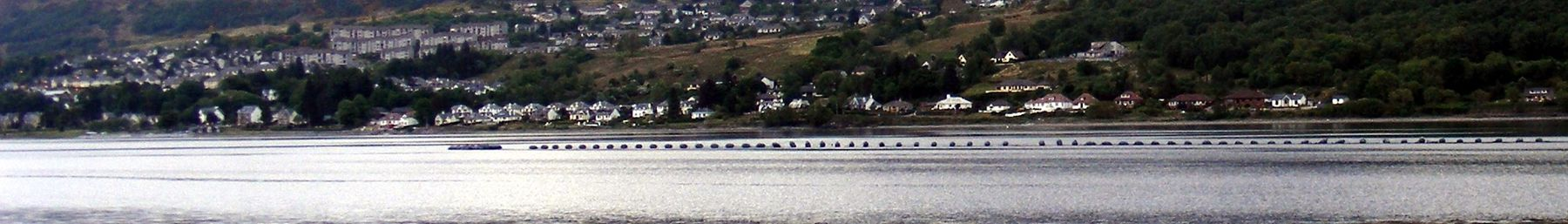Fort William seen from across Loch Linnhe