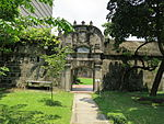 Fort of San Antonio Abad - back entrance 2.JPG