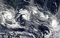 Four Southern Hemisphere Tropical Cyclones (2003).jpg