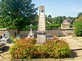 Frémainville (95), monument aux morts, cimetière.jpg