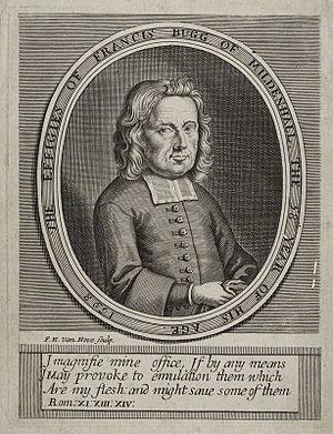 Francis Bugg - Francis Bugg, 1698 engraving