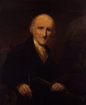 Francis Nicholson (painter) - Self-portrait of Francis Nicholson, circa 1837
