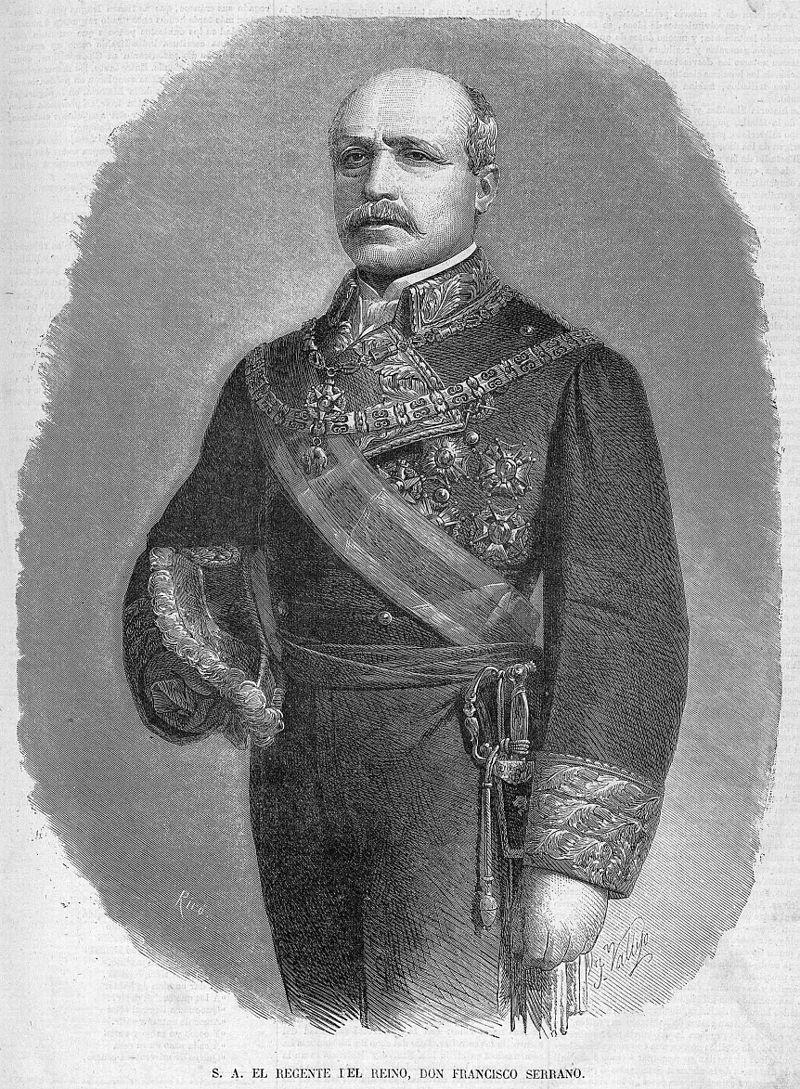Francisco Serrano, en La Ilustración de Madrid